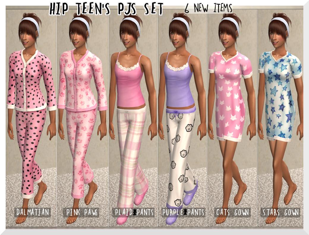 Teen Sleep Set 43