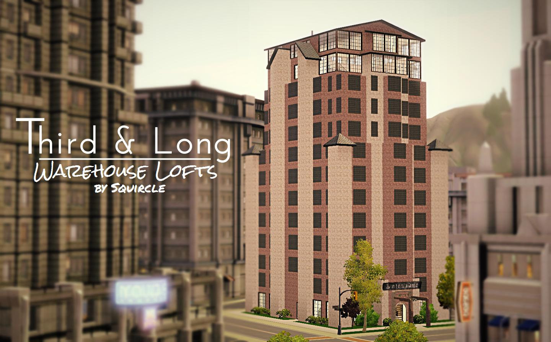 Mod The Sims Third Amp Long Warehouse Lofts