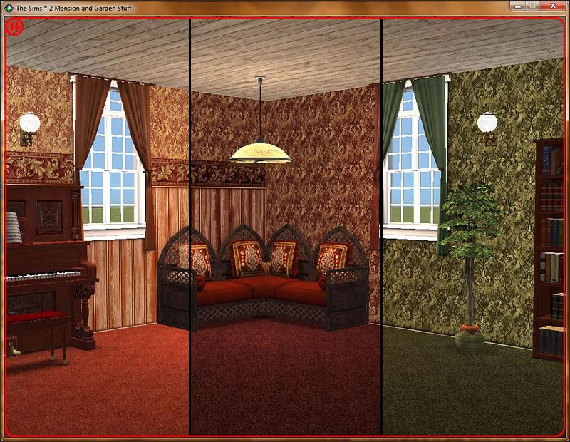 ... Click image for larger version Name: HM-DamaskVictorianScreenShot-04.jpg Size: ... & Mod The Sims - Damask Victorian Walls \u0026 Floor Set