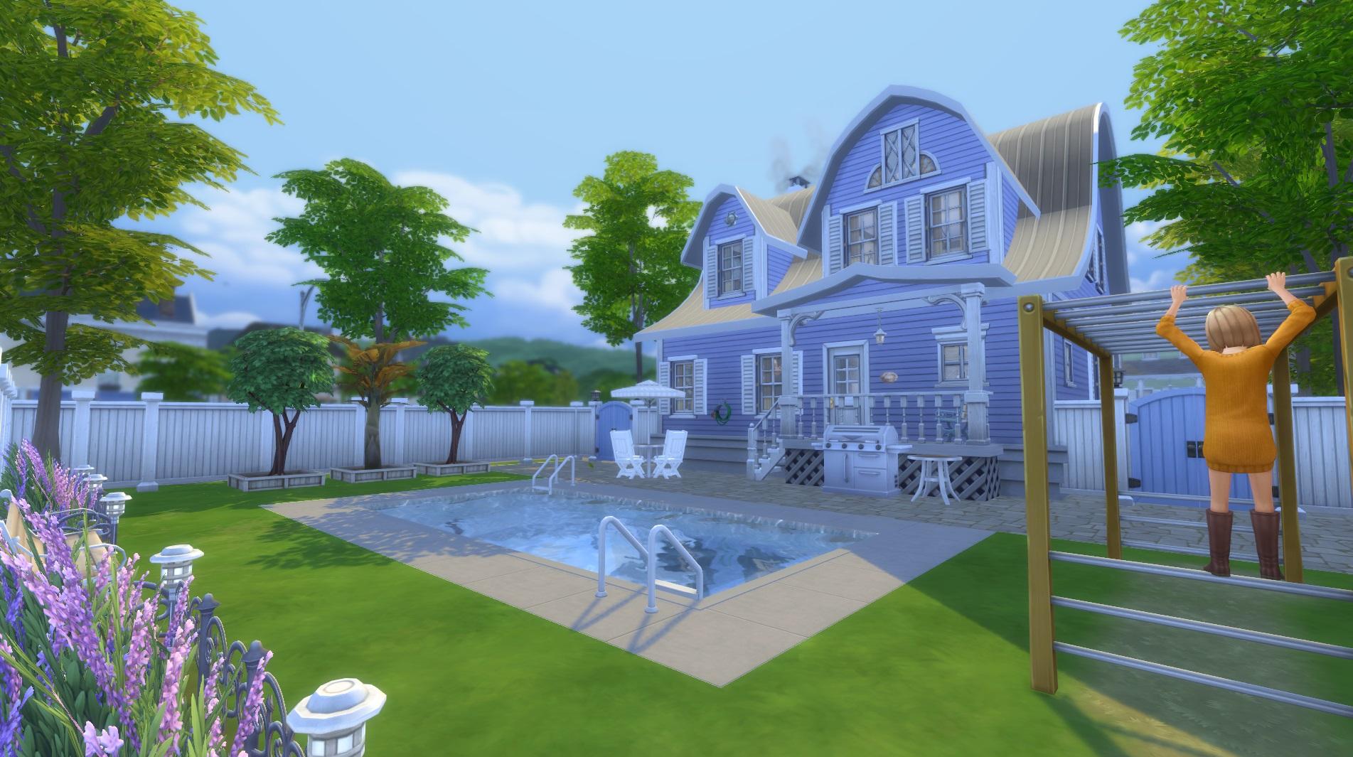 Mod The Sims Little Big House No Cc