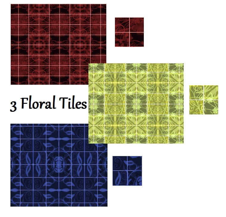 floral kitchen tiles mod the sims set of 3 flowery tiles for your bathroom 1021