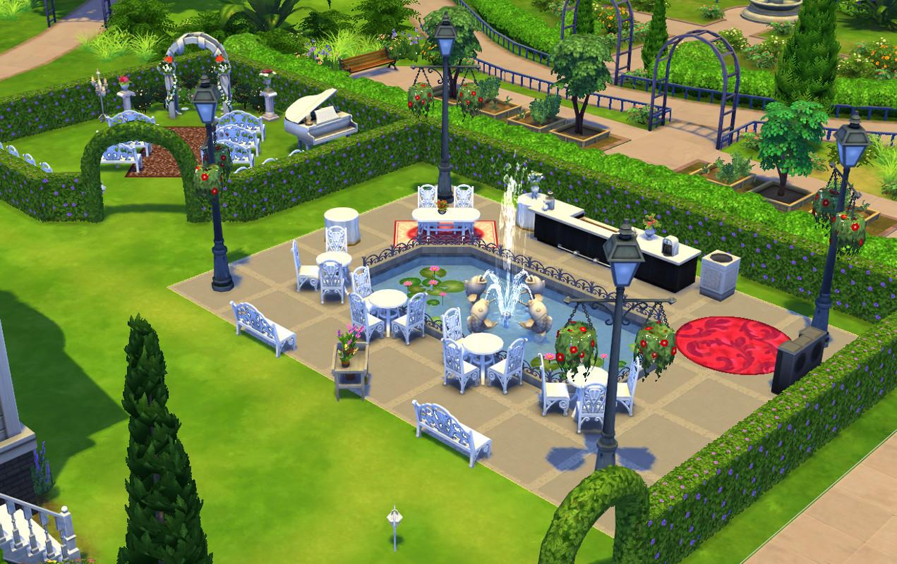 Где устроить свадьбу в симс 3
