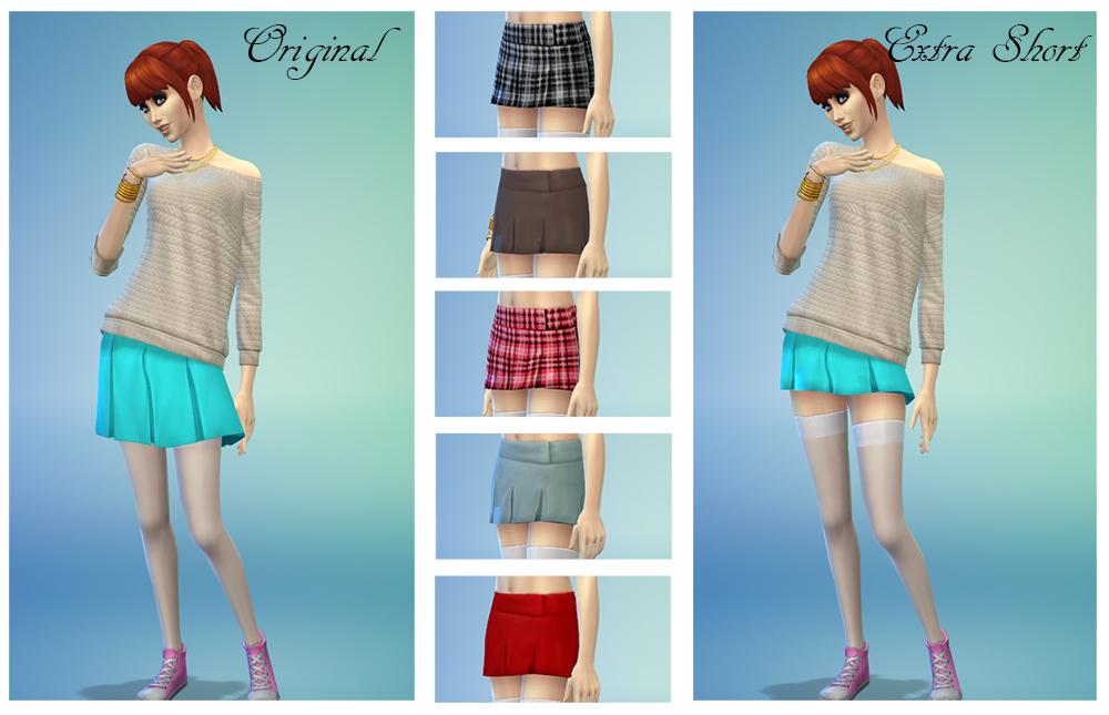 Моды на симс 4 юбки пышные