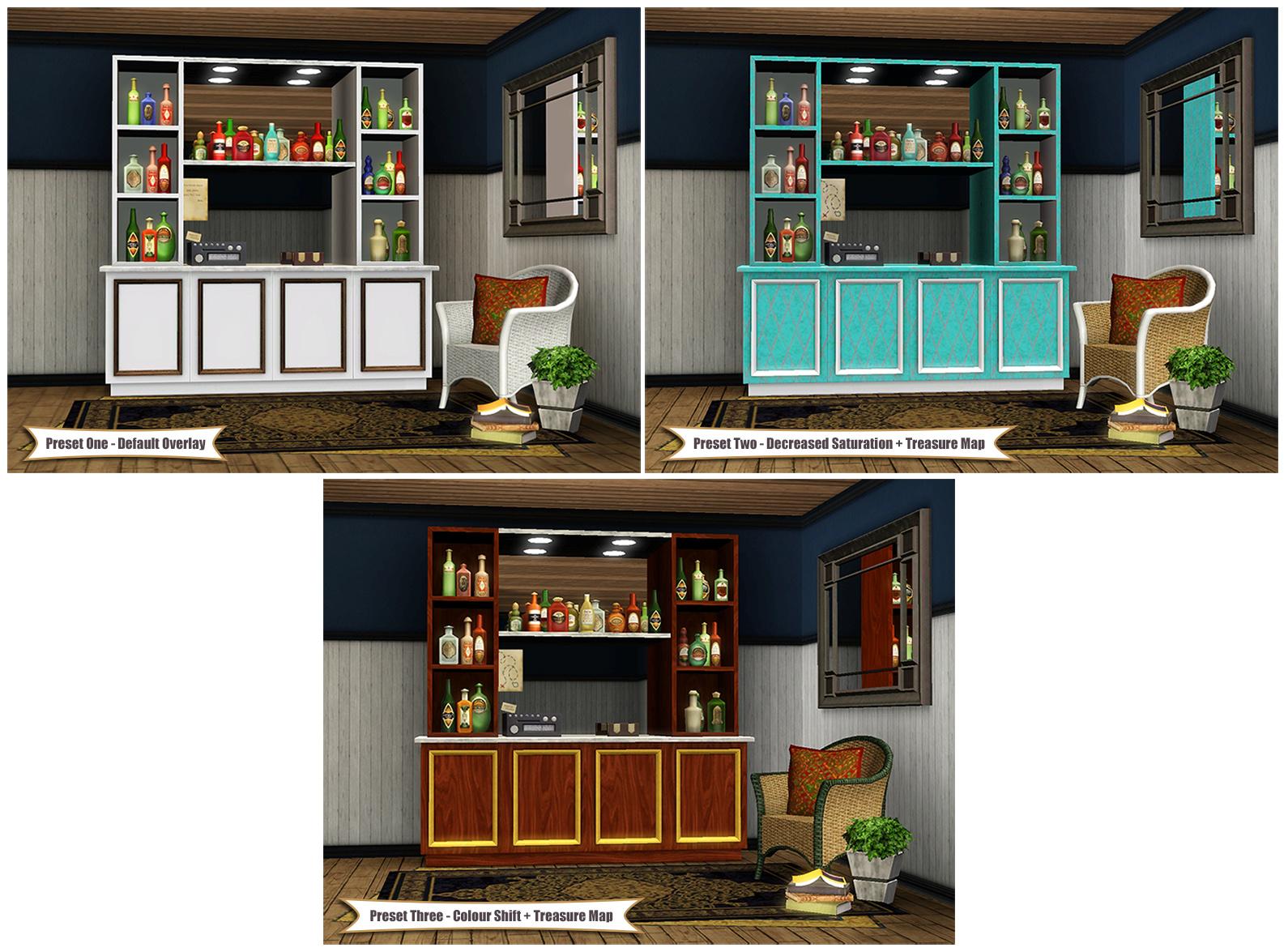 Mod The Sims Top Shelf Nectar Rack
