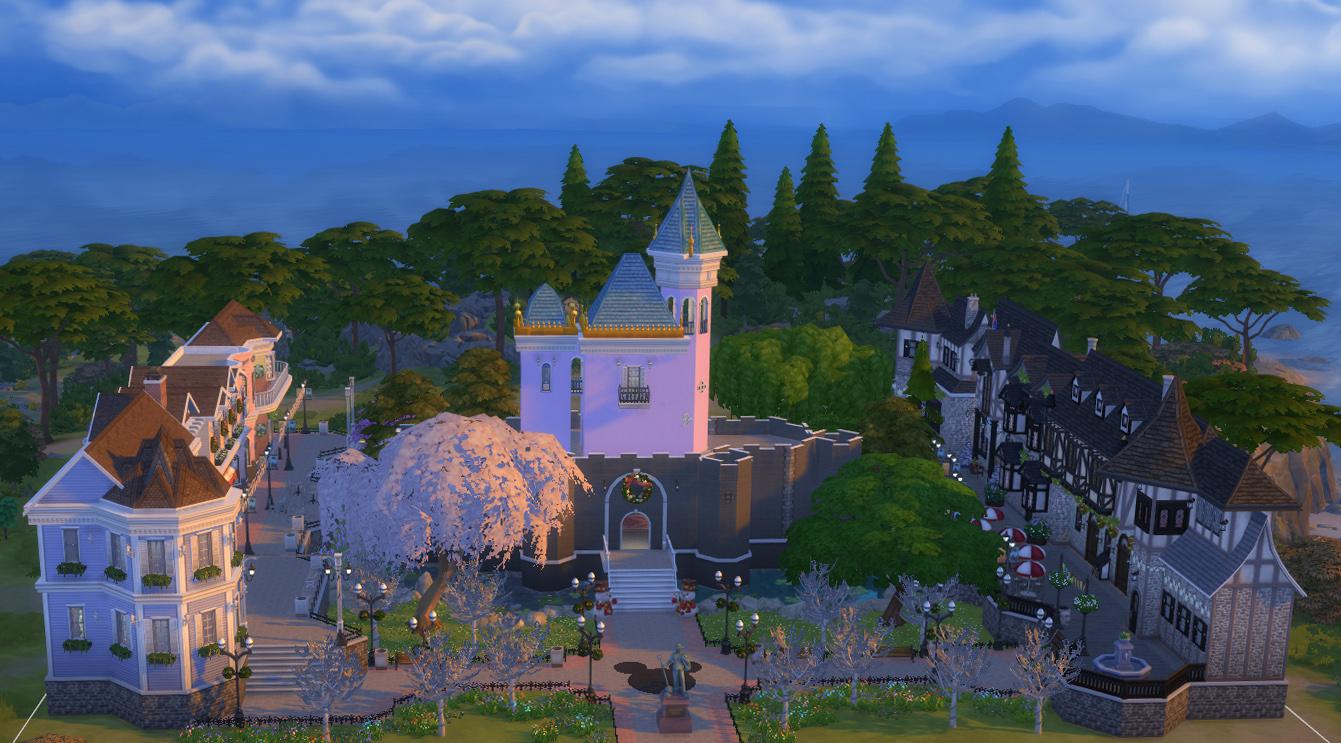 Mod The Sims Disneyland Sim Park