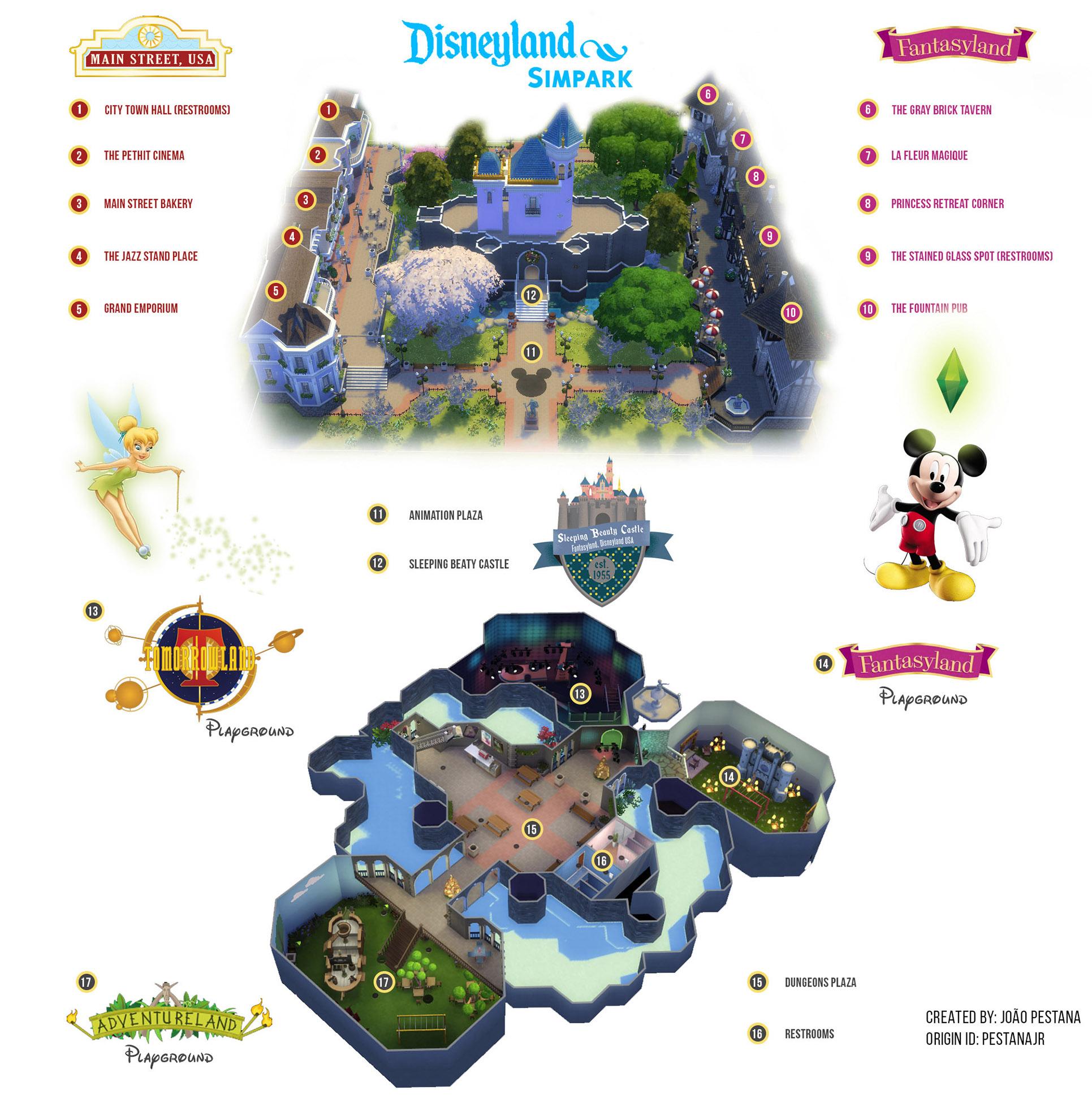 Sims 3 Seasons Christmas Tree: Disneyland Sim Park