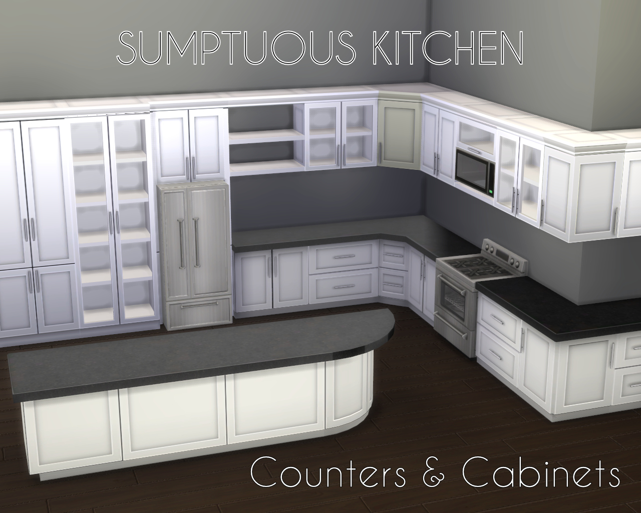 compact modern small cabinets kitchen space for watch set
