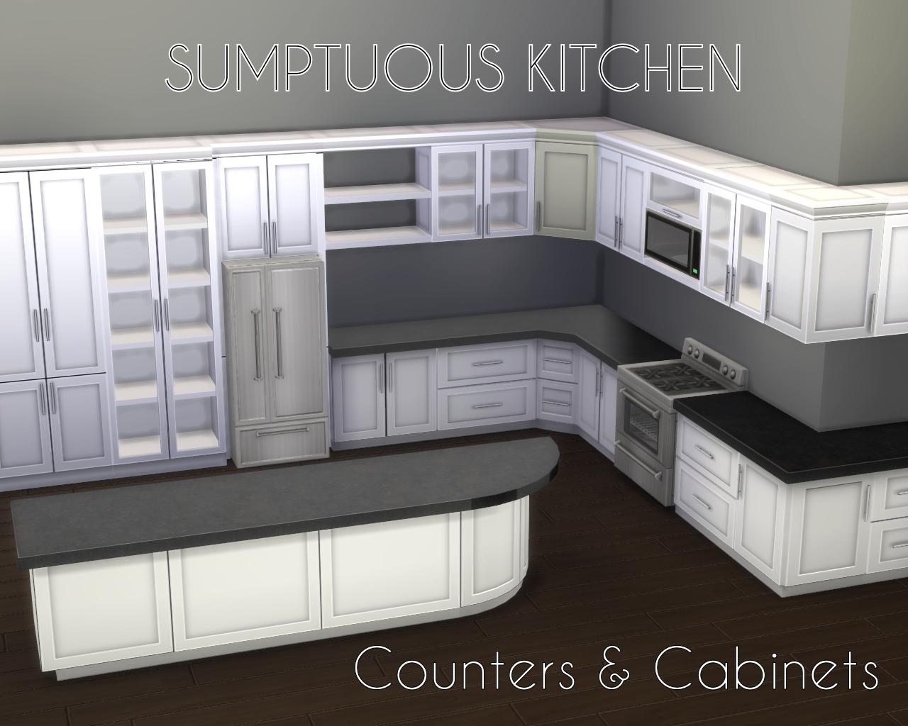 Mod The Sims - Sumptuous Kitchen Set