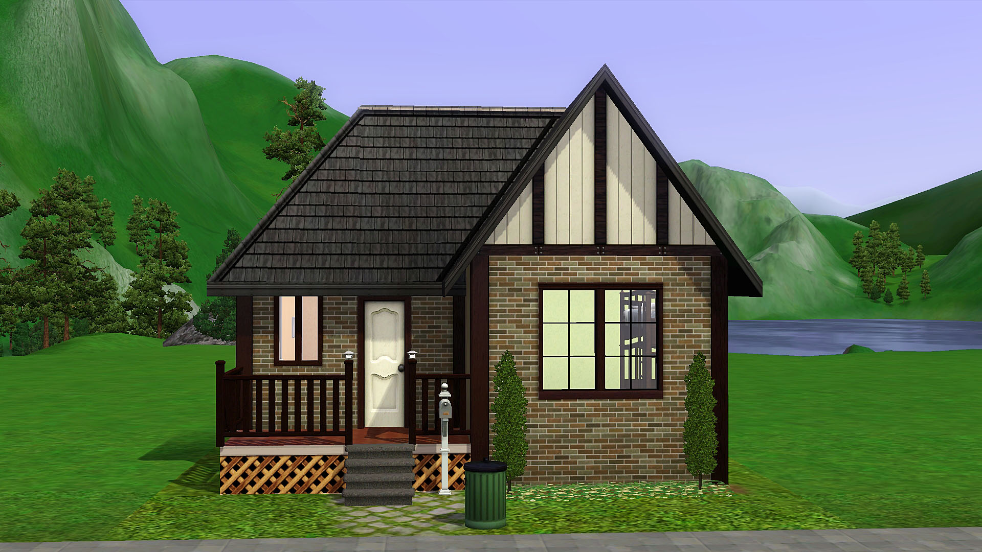 Mod the sims fit anywhere starter home cc free for Small starter homes