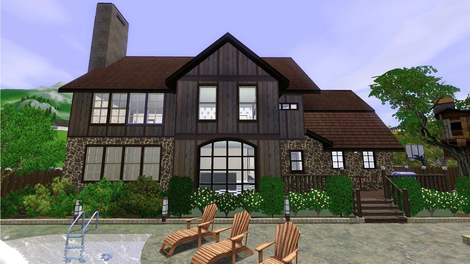 Mod The Sims Modern Tudor