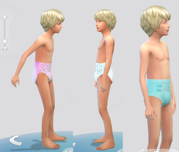 Mod The Sims - Diapers for Children