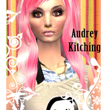 audrey kitching no makeup. Mod The Sims - Audrey Kitching