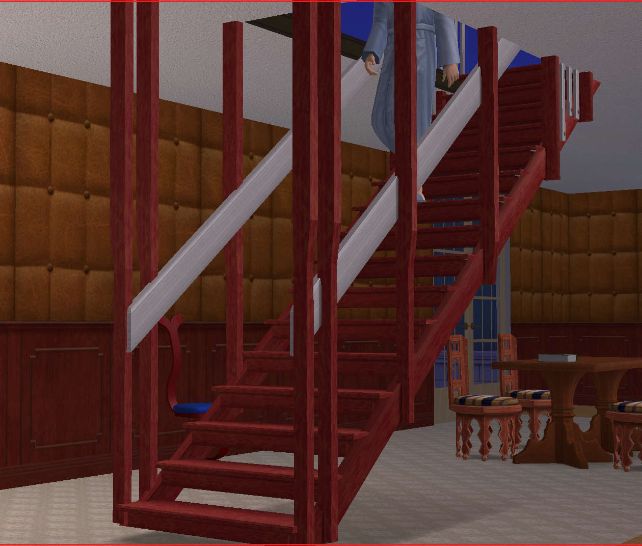 Mod The Sims Simple Suspended Staircase