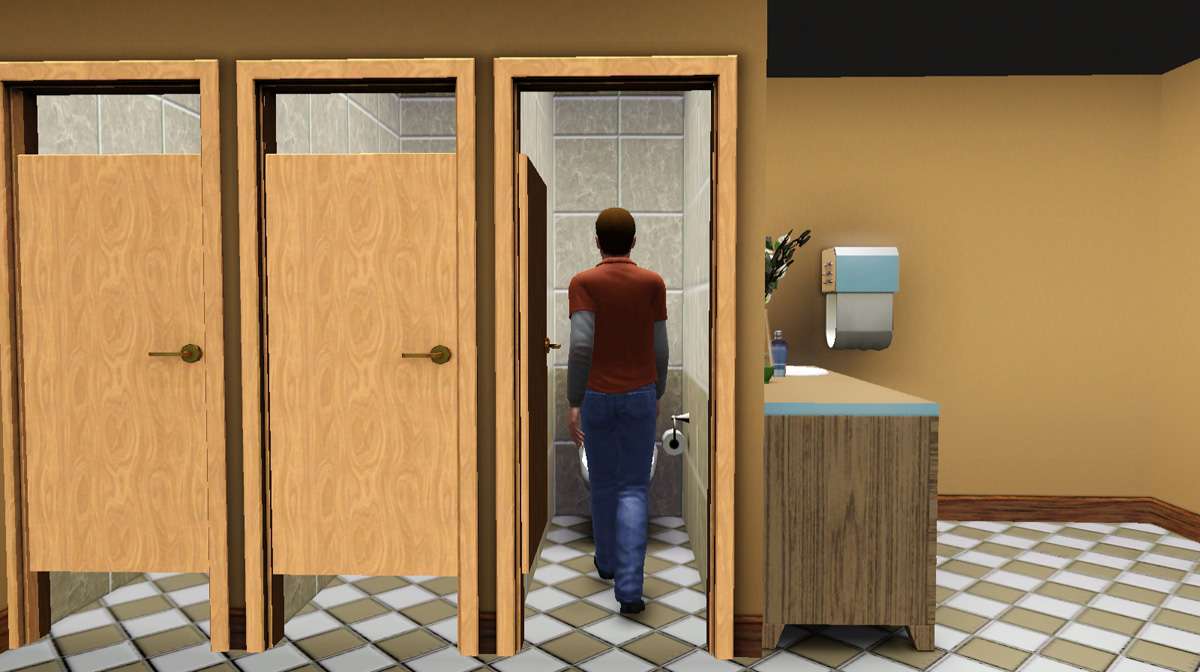 Mod The Sims - The Discretion Doors \