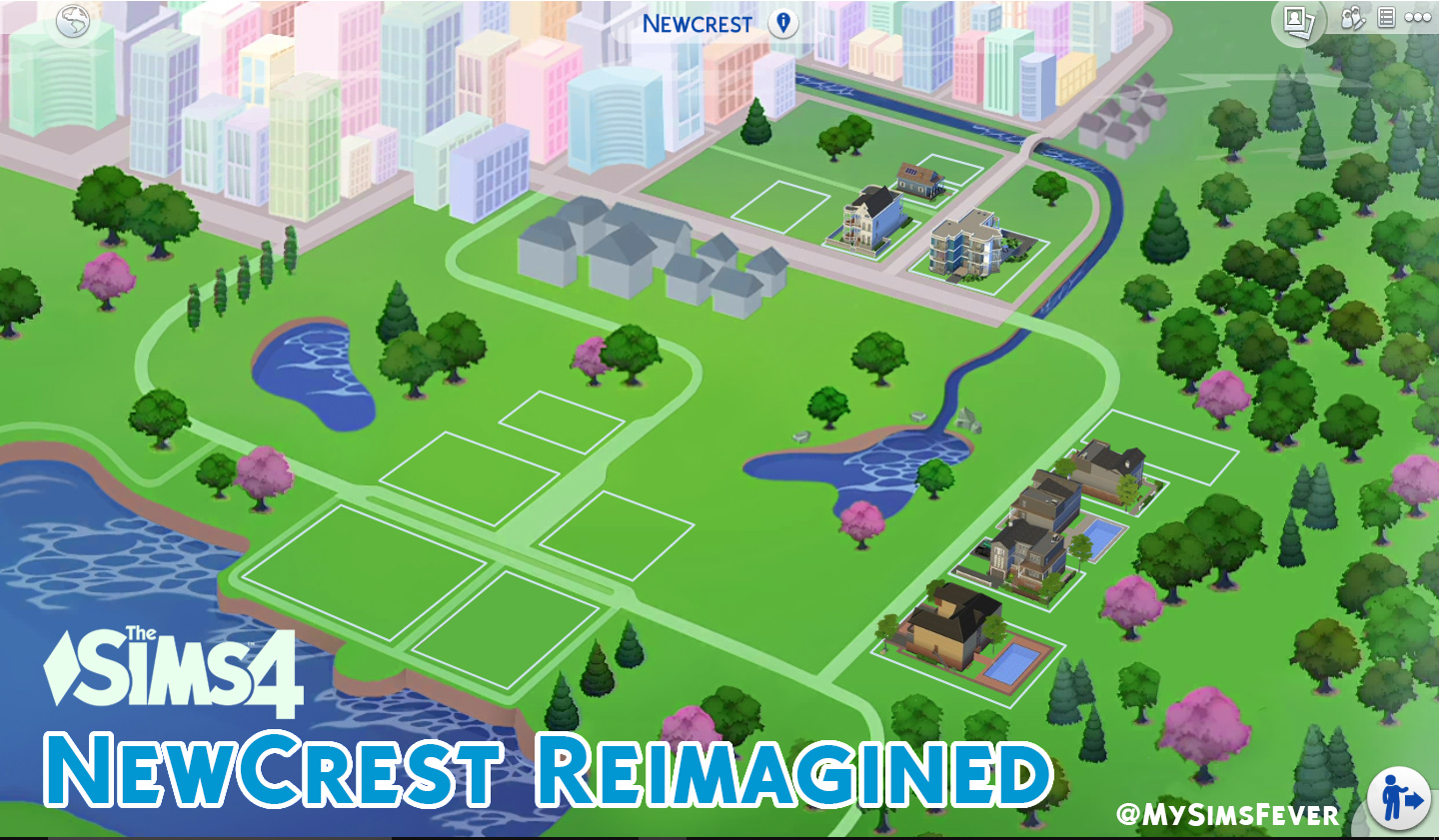 Mod the sims newcrest map reimagined override this map re texture is based on menaceman44 newcrest colored map found here httpmodthesimsfodownloadpt581913 thank you so much gumiabroncs Gallery
